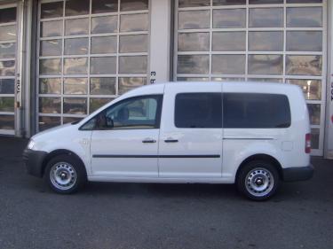 volkswagen vw caddy maxi kombi 1 9tdi 7 pl tzer minivan nutzfahrzeuge kaufen. Black Bedroom Furniture Sets. Home Design Ideas
