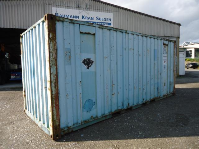 sonstige other seecontainer 20 39 wechselbeh lter container nutzfahrzeuge kaufen. Black Bedroom Furniture Sets. Home Design Ideas