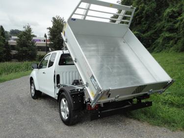 isuzu d max space cab solar kipper 3 seitenkipper nutzfahrzeuge kaufen und. Black Bedroom Furniture Sets. Home Design Ideas